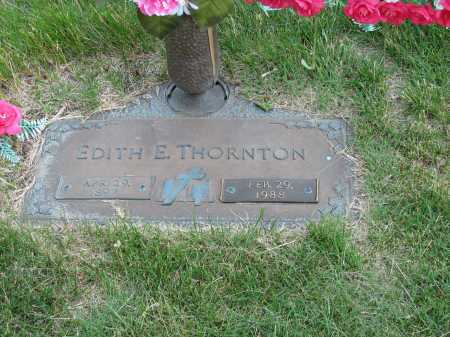 WAKENIGHT THORNTON, EDITH ESTHER - Douglas County, Nebraska | EDITH ESTHER WAKENIGHT THORNTON - Nebraska Gravestone Photos