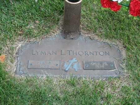 THORNTON, LYMAN L - Douglas County, Nebraska   LYMAN L THORNTON - Nebraska Gravestone Photos