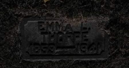 THORPE, EMMA L - Douglas County, Nebraska   EMMA L THORPE - Nebraska Gravestone Photos