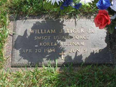 TIGER, WILLIAM J. JR - Douglas County, Nebraska | WILLIAM J. JR TIGER - Nebraska Gravestone Photos