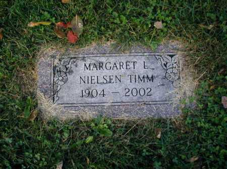 TIMM, MARGARET L. - Douglas County, Nebraska | MARGARET L. TIMM - Nebraska Gravestone Photos