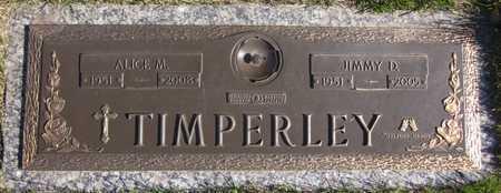 TIMPERLEY, ALICE M. - Douglas County, Nebraska | ALICE M. TIMPERLEY - Nebraska Gravestone Photos
