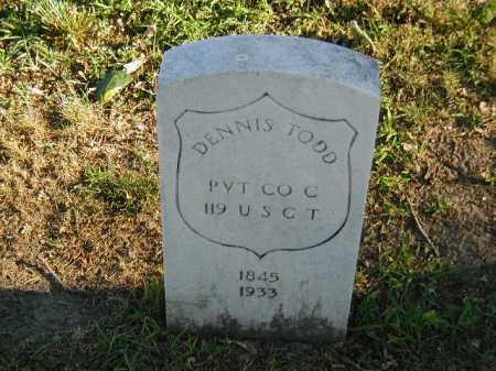 TODD, DENNIS - Douglas County, Nebraska   DENNIS TODD - Nebraska Gravestone Photos
