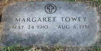 TOWEY, MARGARET - Douglas County, Nebraska   MARGARET TOWEY - Nebraska Gravestone Photos