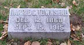 TOWNSEND, HARRIE C. - Douglas County, Nebraska   HARRIE C. TOWNSEND - Nebraska Gravestone Photos