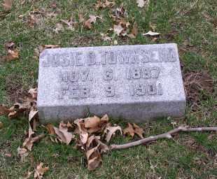 TOWNSEND, JOSIE D. - Douglas County, Nebraska | JOSIE D. TOWNSEND - Nebraska Gravestone Photos