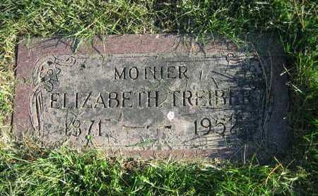 SERR TREIBER, ELIZABETH - Douglas County, Nebraska   ELIZABETH SERR TREIBER - Nebraska Gravestone Photos