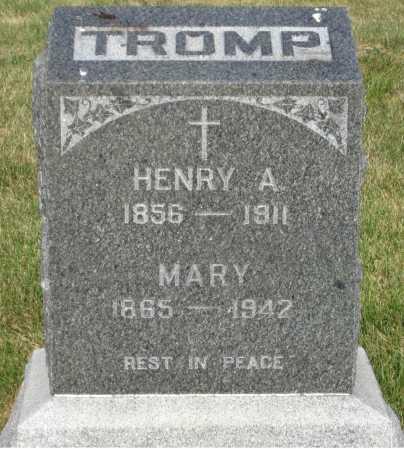 TROMP, MARY - Douglas County, Nebraska | MARY TROMP - Nebraska Gravestone Photos