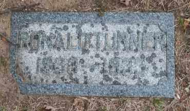 TURNER, RONALD - Douglas County, Nebraska   RONALD TURNER - Nebraska Gravestone Photos