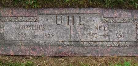 UHL, CORNELIUS F. - Douglas County, Nebraska | CORNELIUS F. UHL - Nebraska Gravestone Photos
