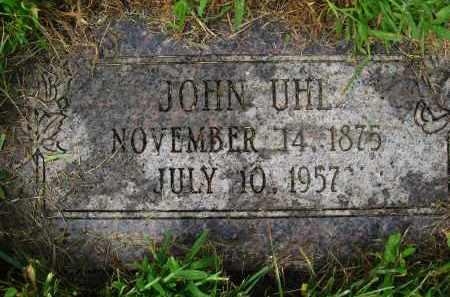 UHL, JOHN - Douglas County, Nebraska | JOHN UHL - Nebraska Gravestone Photos