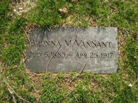 VAN SANT, BRONNA M. - Douglas County, Nebraska | BRONNA M. VAN SANT - Nebraska Gravestone Photos