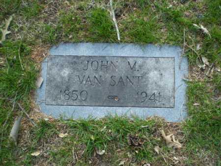 VAN SANT, JOHN M. - Douglas County, Nebraska | JOHN M. VAN SANT - Nebraska Gravestone Photos