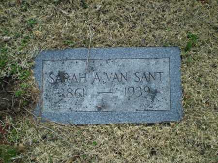 VAN SANT, SARAH A. - Douglas County, Nebraska | SARAH A. VAN SANT - Nebraska Gravestone Photos