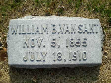 VAN SANT, WILLIAM B. - Douglas County, Nebraska   WILLIAM B. VAN SANT - Nebraska Gravestone Photos