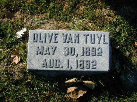 VAN TUYL, OLIVE - Douglas County, Nebraska | OLIVE VAN TUYL - Nebraska Gravestone Photos