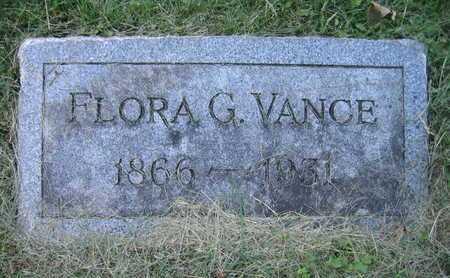 VANCE, FLORA G - Douglas County, Nebraska | FLORA G VANCE - Nebraska Gravestone Photos