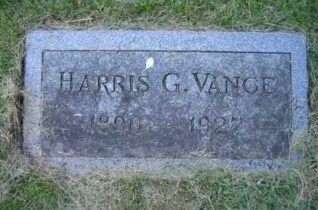 VANCE, HARRIS G - Douglas County, Nebraska | HARRIS G VANCE - Nebraska Gravestone Photos