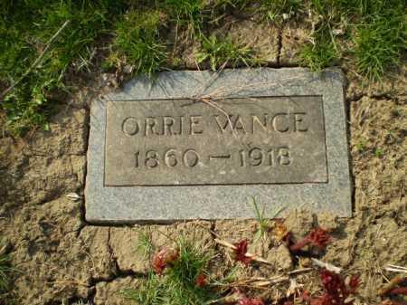 VANCE, ORRIE - Douglas County, Nebraska | ORRIE VANCE - Nebraska Gravestone Photos