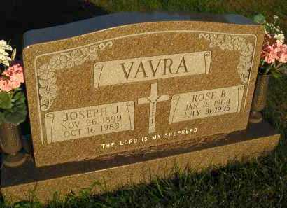 VAVRA, JOSEPH J. - Douglas County, Nebraska | JOSEPH J. VAVRA - Nebraska Gravestone Photos