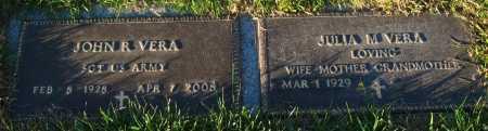VERA, JOHN R. - Douglas County, Nebraska   JOHN R. VERA - Nebraska Gravestone Photos