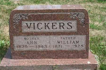 VICKERS, WILLIAM - Douglas County, Nebraska | WILLIAM VICKERS - Nebraska Gravestone Photos