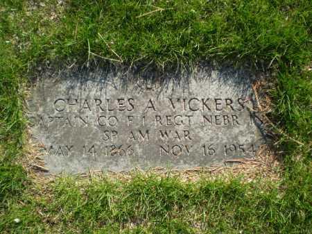 VICKERS, CHARLES ALFRED - Douglas County, Nebraska | CHARLES ALFRED VICKERS - Nebraska Gravestone Photos