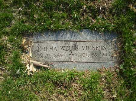 WELLS VICKERS, ORPHA - Douglas County, Nebraska | ORPHA WELLS VICKERS - Nebraska Gravestone Photos