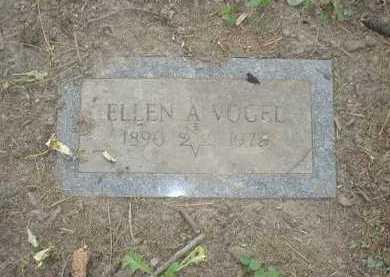 VOGEL, ELLEN A. - Douglas County, Nebraska | ELLEN A. VOGEL - Nebraska Gravestone Photos