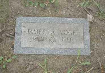 VOGEL, JAMES A. - Douglas County, Nebraska | JAMES A. VOGEL - Nebraska Gravestone Photos