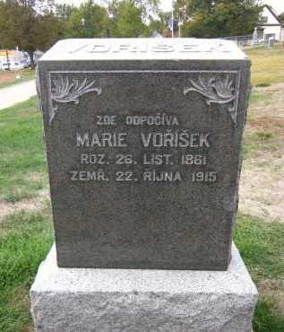 VORISEK, MARIE - Douglas County, Nebraska   MARIE VORISEK - Nebraska Gravestone Photos