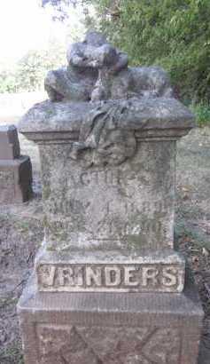 VRINDERS, VICTOR A. - Douglas County, Nebraska   VICTOR A. VRINDERS - Nebraska Gravestone Photos