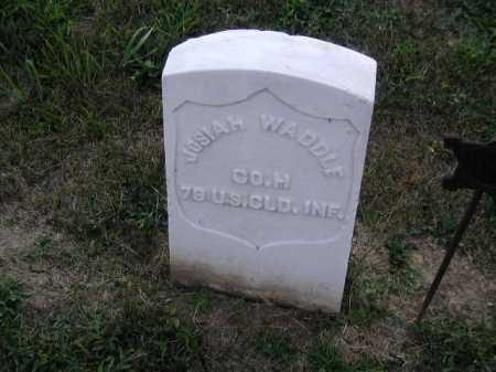 WADDLE, JOSIAH - Douglas County, Nebraska   JOSIAH WADDLE - Nebraska Gravestone Photos