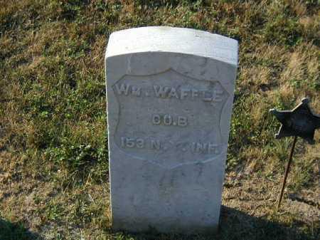 WAFFLE, WM. - Douglas County, Nebraska   WM. WAFFLE - Nebraska Gravestone Photos