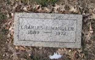 WAGNER, CHARLES F. - Douglas County, Nebraska | CHARLES F. WAGNER - Nebraska Gravestone Photos