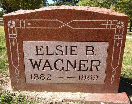 WAGNER, ELSIE B. - Douglas County, Nebraska   ELSIE B. WAGNER - Nebraska Gravestone Photos