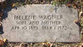 WAGNER, HELENE - Douglas County, Nebraska   HELENE WAGNER - Nebraska Gravestone Photos