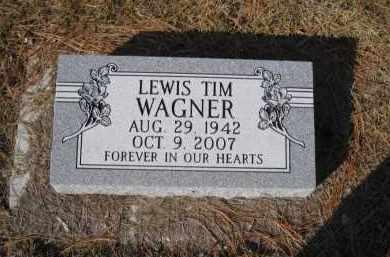 WAGNER, LEWIS TIM - Douglas County, Nebraska | LEWIS TIM WAGNER - Nebraska Gravestone Photos