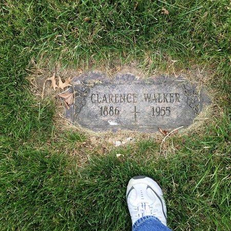 WALKER, CLARENCE - Douglas County, Nebraska | CLARENCE WALKER - Nebraska Gravestone Photos