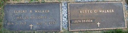 WALKER, BETTE C. - Douglas County, Nebraska | BETTE C. WALKER - Nebraska Gravestone Photos