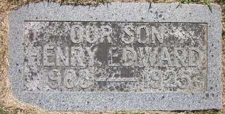 WALKER, HENRY EDWARD - Douglas County, Nebraska | HENRY EDWARD WALKER - Nebraska Gravestone Photos