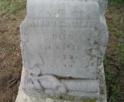 WALKER, HARRY C - Douglas County, Nebraska | HARRY C WALKER - Nebraska Gravestone Photos