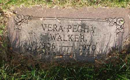 WALKER, VERA C - Douglas County, Nebraska | VERA C WALKER - Nebraska Gravestone Photos