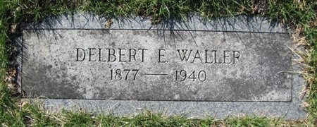 WALLER, DELBERT E. - Douglas County, Nebraska | DELBERT E. WALLER - Nebraska Gravestone Photos