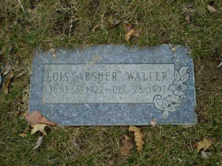 WALLER, LOIS - Douglas County, Nebraska | LOIS WALLER - Nebraska Gravestone Photos
