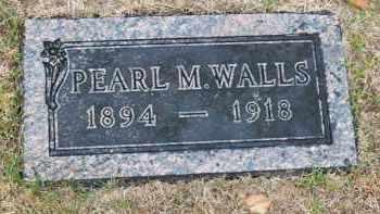 WALLS, PEARL - Douglas County, Nebraska | PEARL WALLS - Nebraska Gravestone Photos