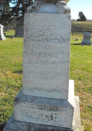 WARNER, CHARLES - Douglas County, Nebraska | CHARLES WARNER - Nebraska Gravestone Photos