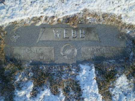 WEBB, LORAN CHESTER - Douglas County, Nebraska | LORAN CHESTER WEBB - Nebraska Gravestone Photos