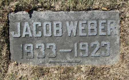 WEBER, JACOB - Douglas County, Nebraska | JACOB WEBER - Nebraska Gravestone Photos