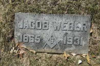 WEBER, JACOB - Douglas County, Nebraska   JACOB WEBER - Nebraska Gravestone Photos